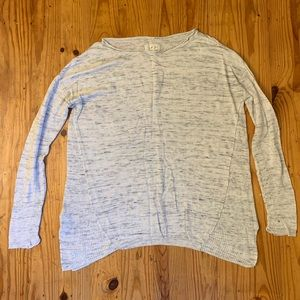 Heather gray light weight sweater